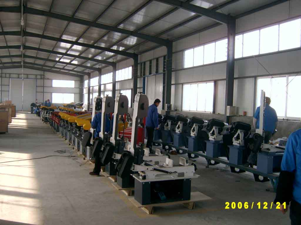 Part of assembling line -1